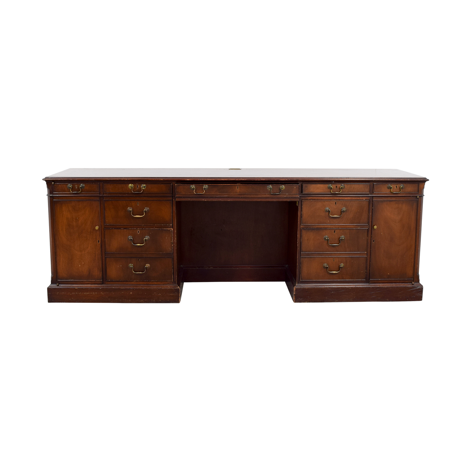 buy Smith & Watson Wood Credenza Desk Smith & Watson Tables