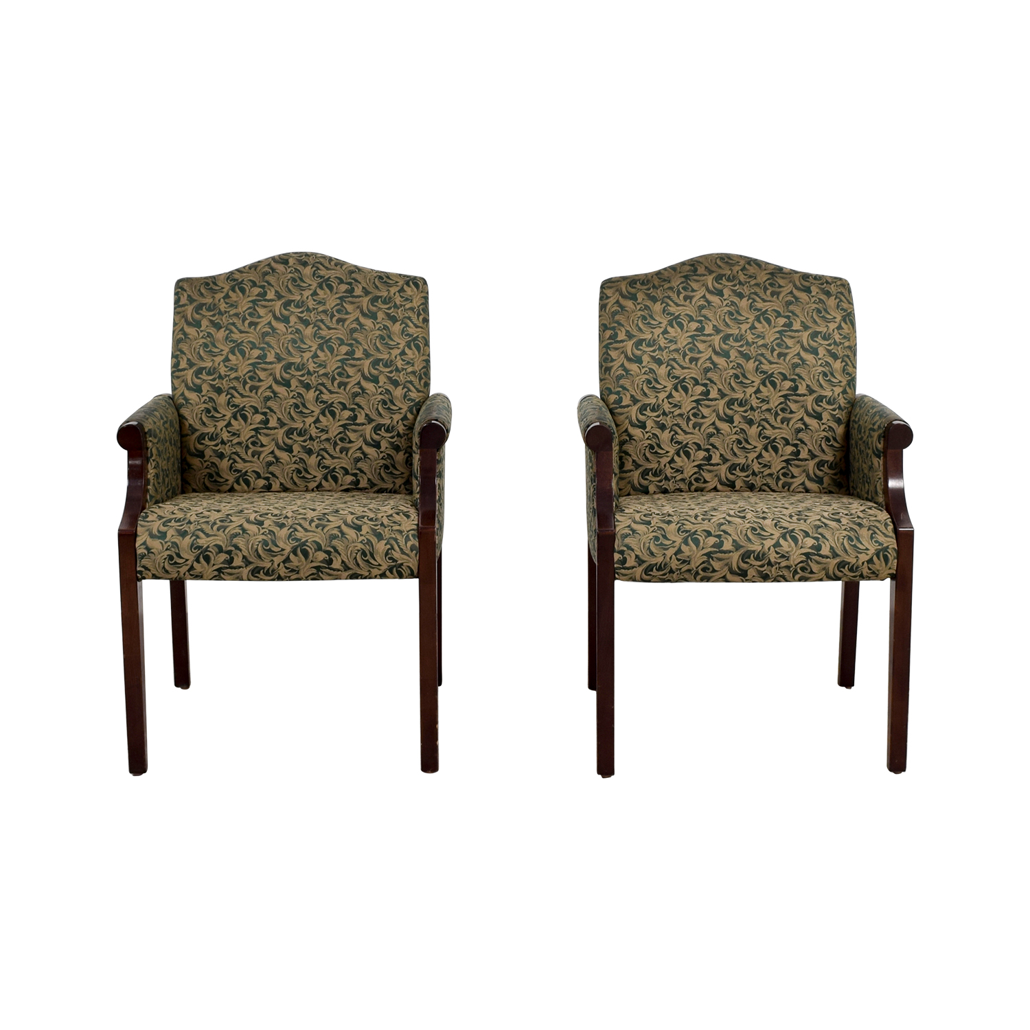 shop Paoli Green Leaf Upholstered Accent Chairs Paoli