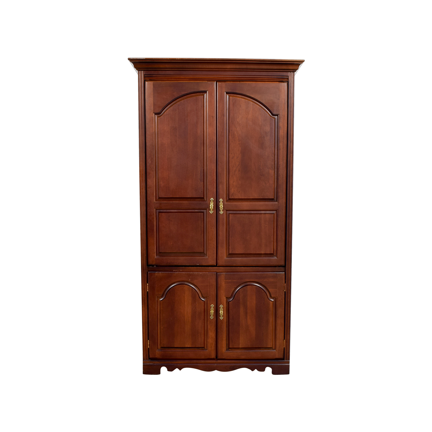 Broyhill Tall Wooden Tv Armoire Price