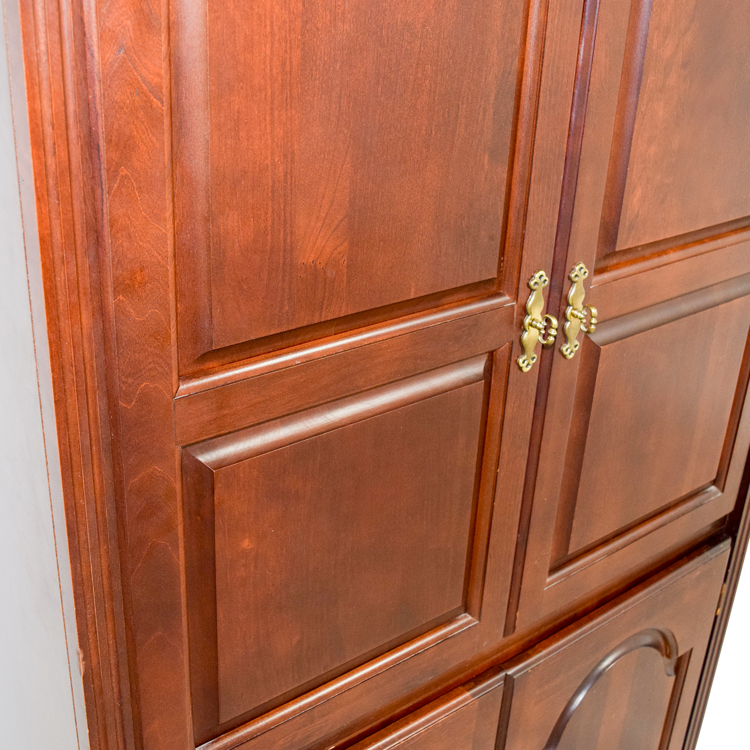 ... Shop Broyhill Tall Wooden TV Armoire Broyhill Wardrobes U0026 Armoires ...