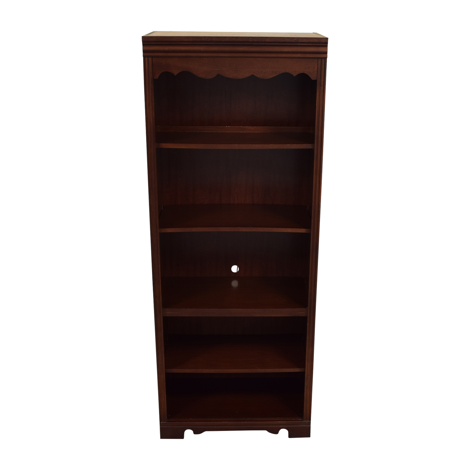 Broyhill Broyhill Dovetailed Trim Wood Bookshelf nyc