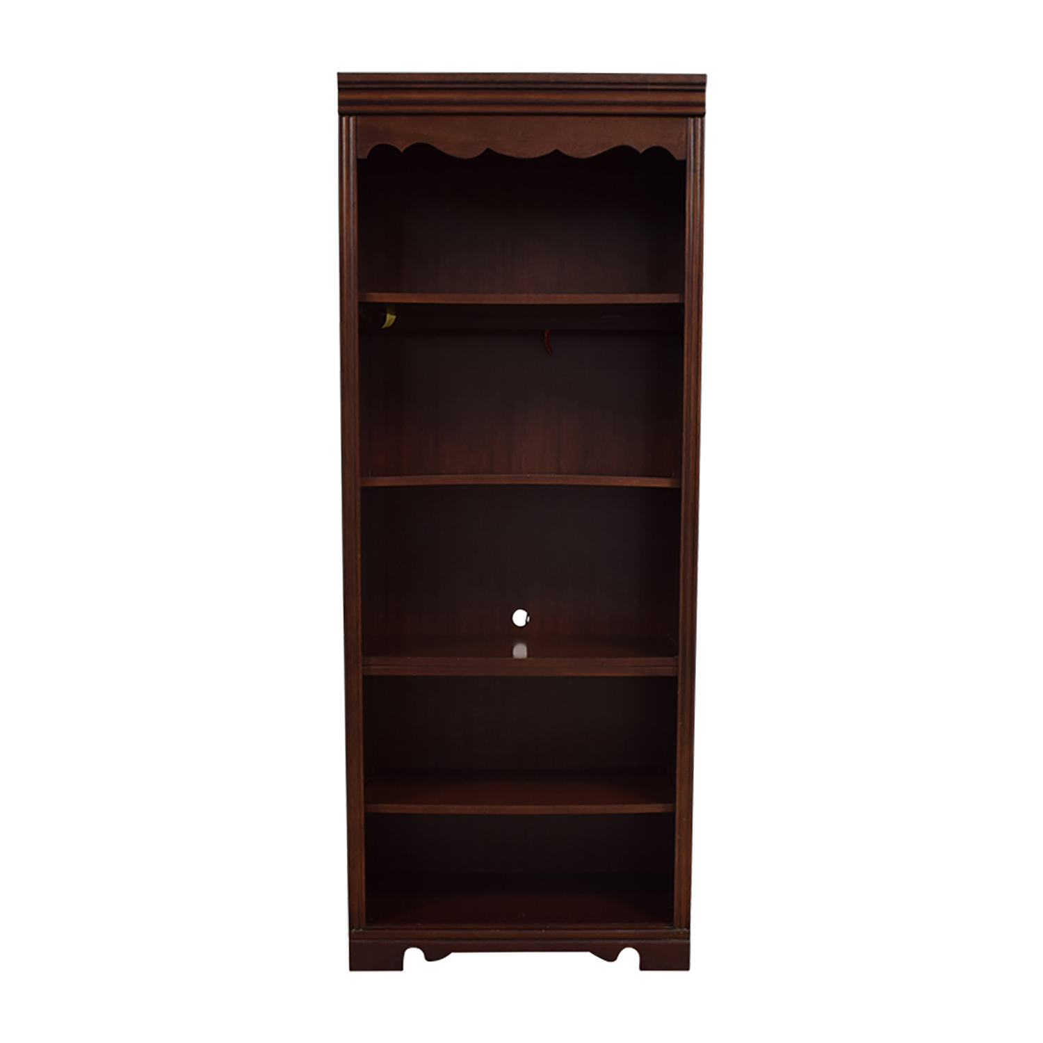 Broyhill Broyhill Dovetailed Trim Wood Bookshelf on sale