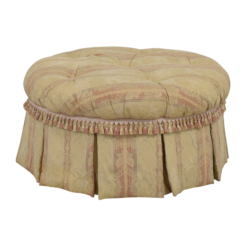 buy MH Stark LTD Damask Ottoman MH Stark LTD Chairs
