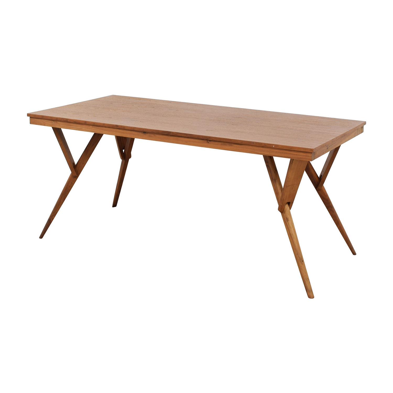 45% OFF West Elm West Elm Mid Century Table Tables