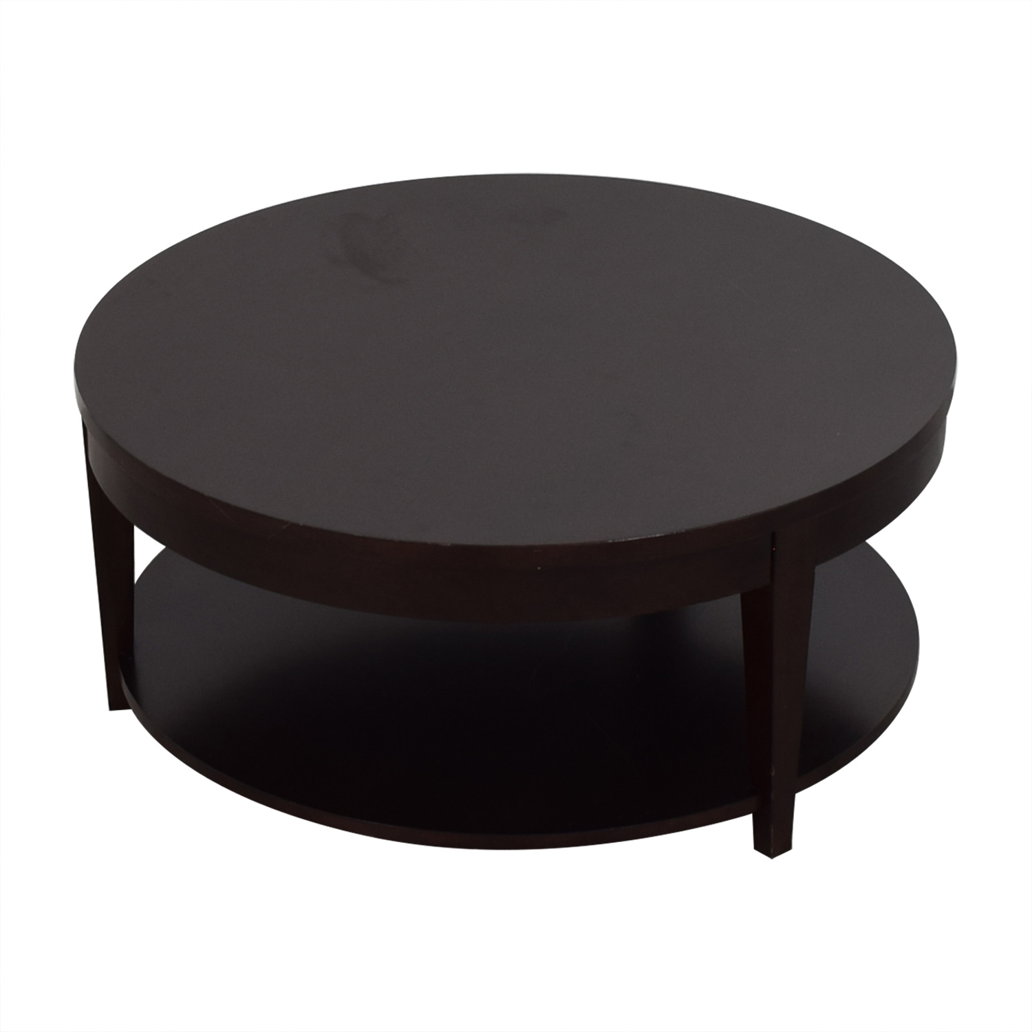 shop Macys Macys Modern Rolling Round Coffee Table online