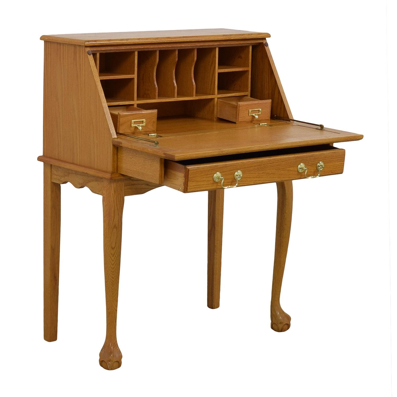 Off oak secretary desk tables