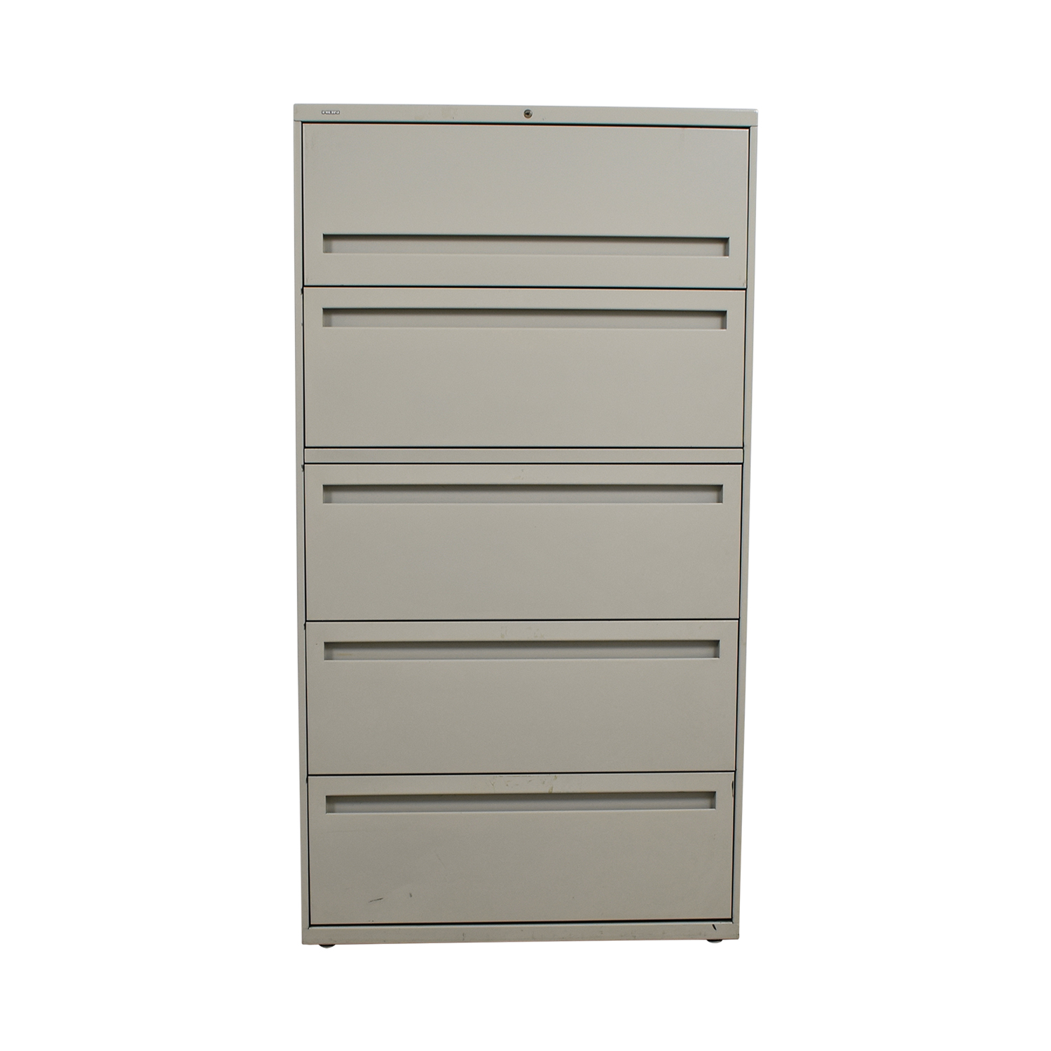 buy Hon White Five Drawer Lateral File Cabinet Hon Filing & Bins