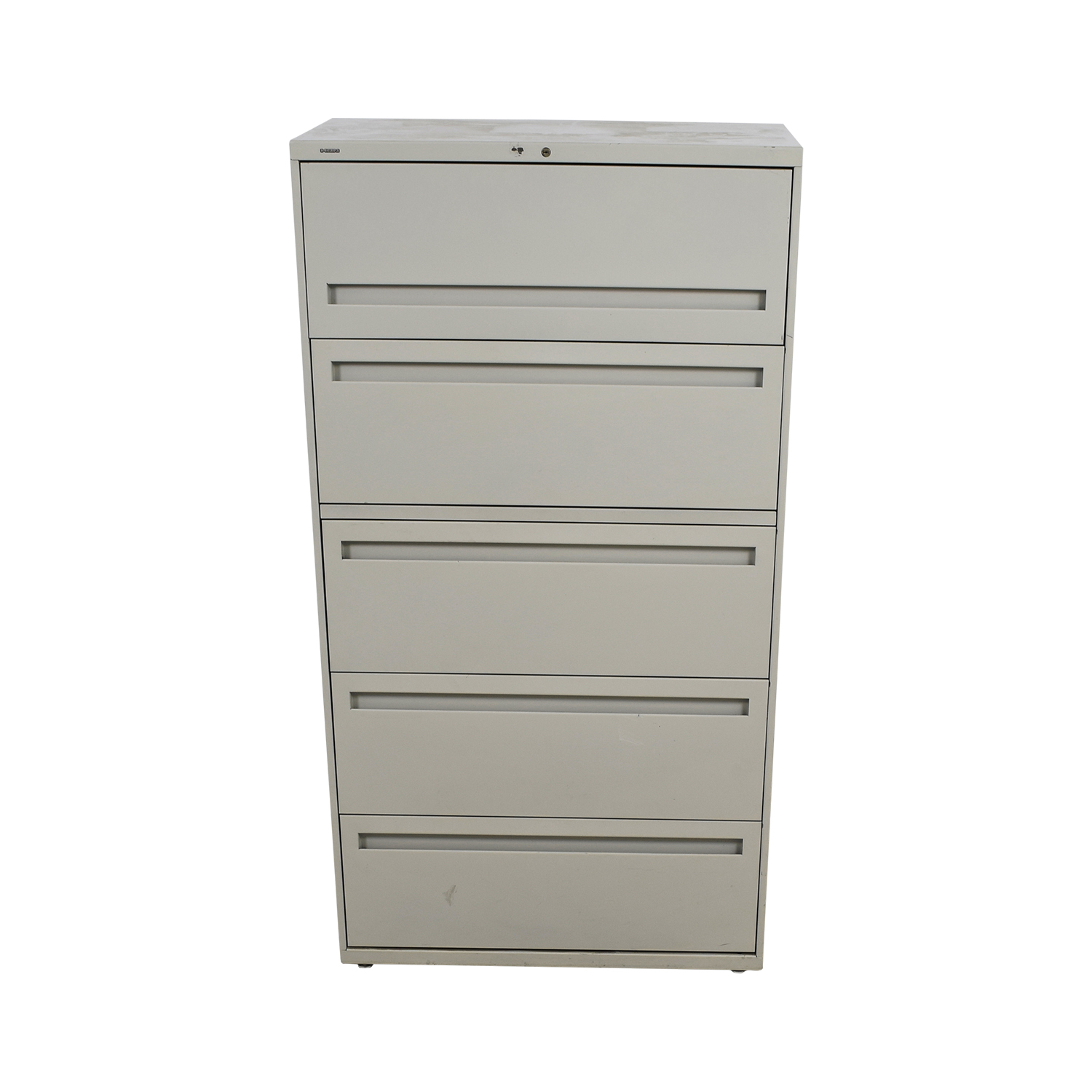 shop Hon Five-Drawer Lateral File Hon Storage