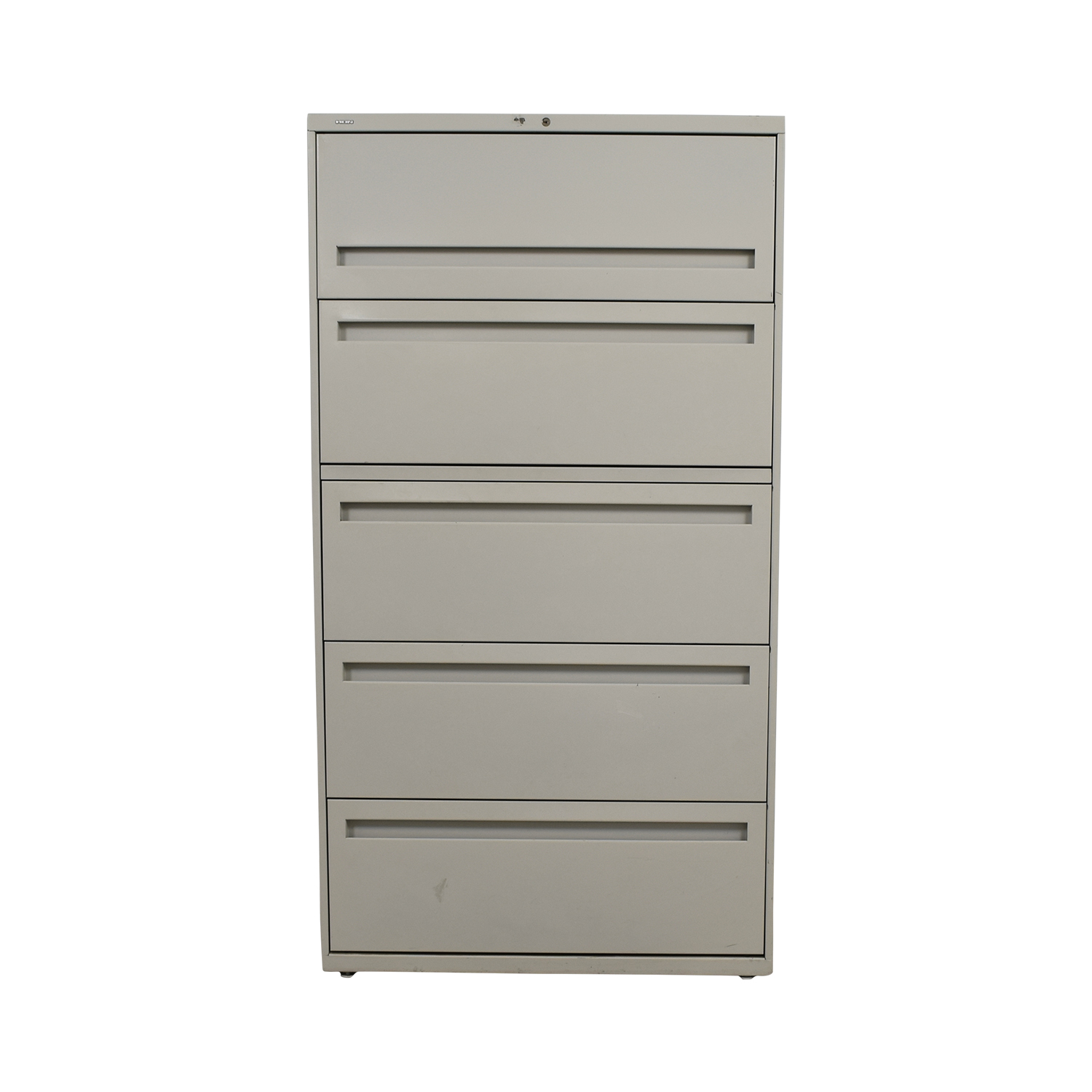 Hon Hon Five-Drawer Lateral File used