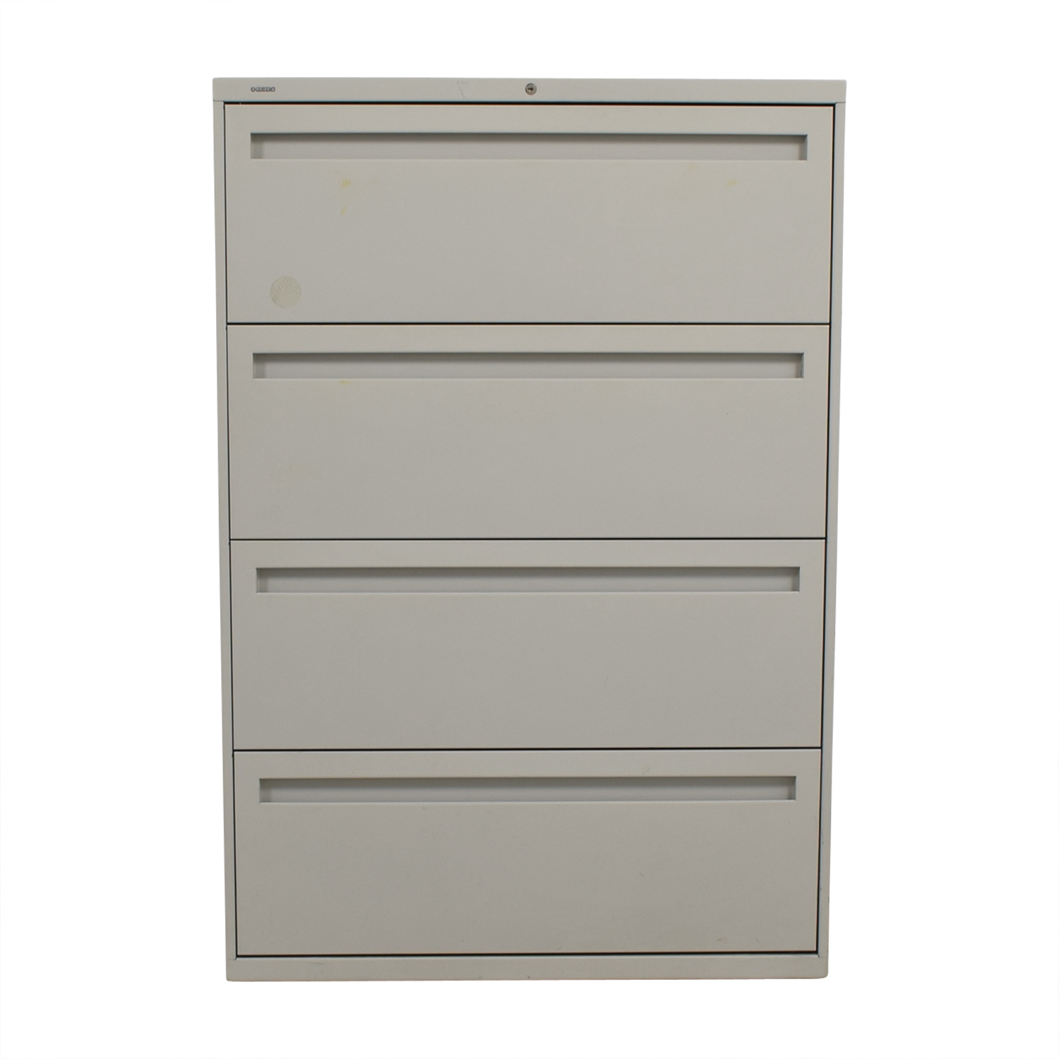 Hon Hon Grey Four Drawer Lateral File Cabinet price