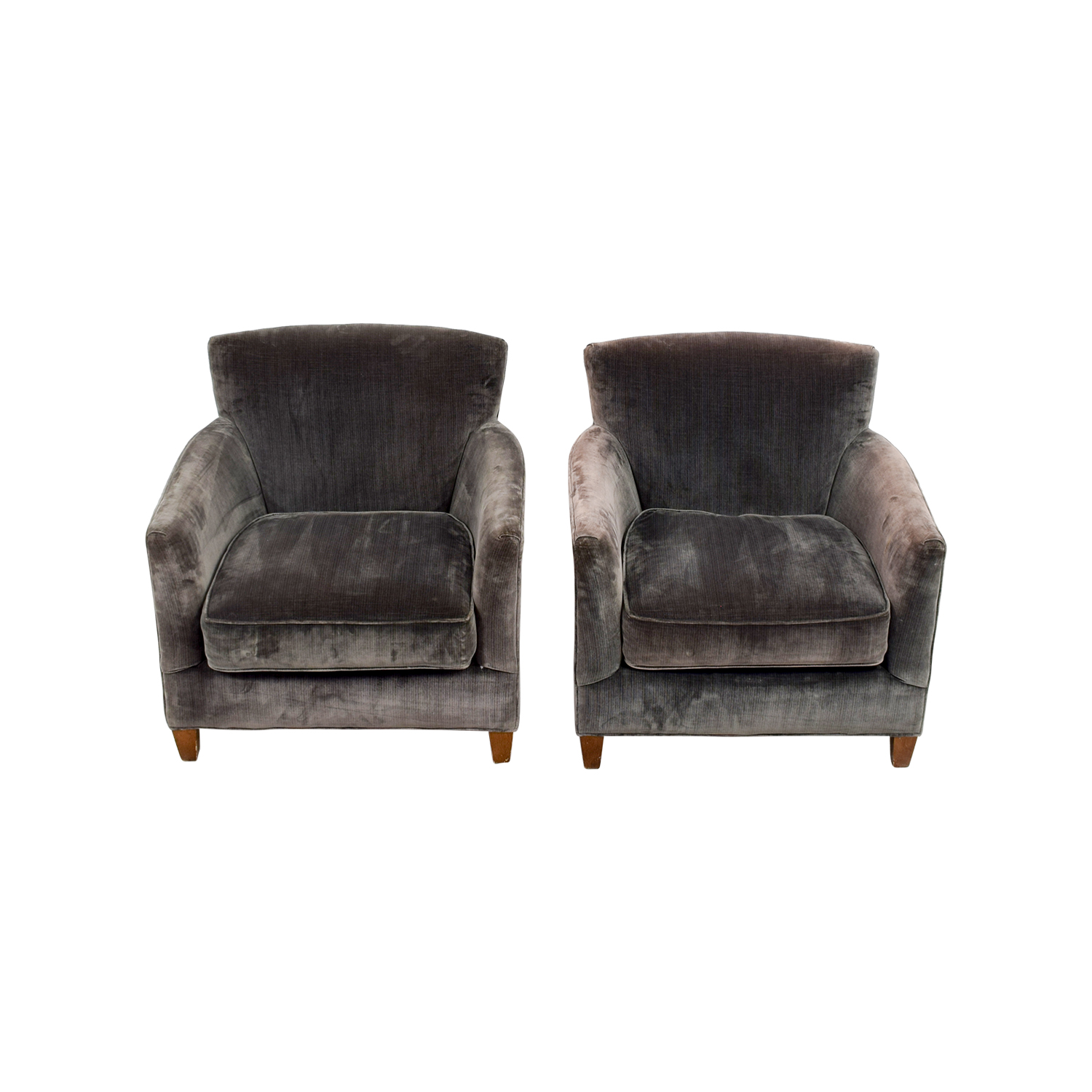 66% OFF Lee Lee Dark Green Velvet Accent Chairs Chairs