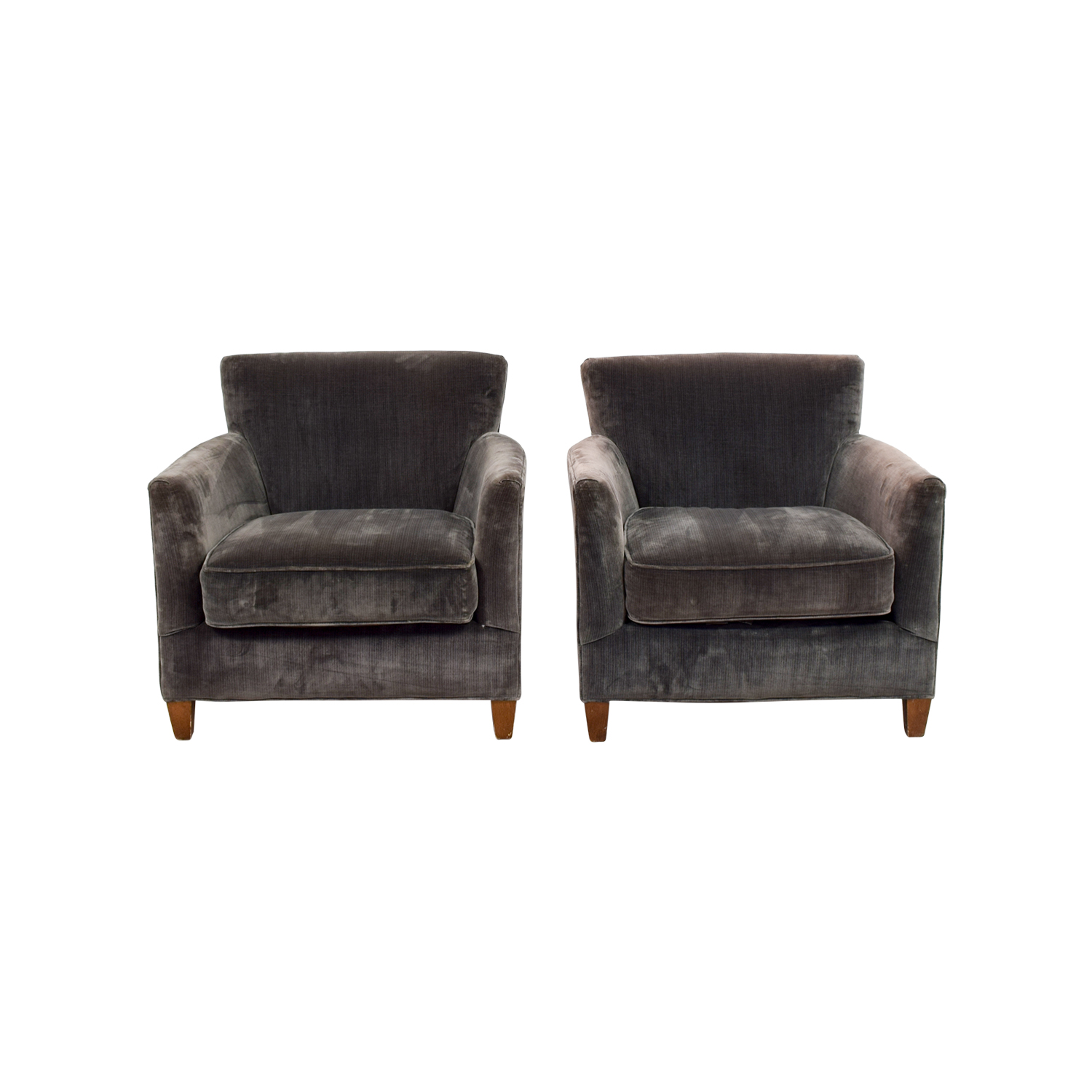 shop Lee Dark Green Velvet Accent Chairs Lee Chairs