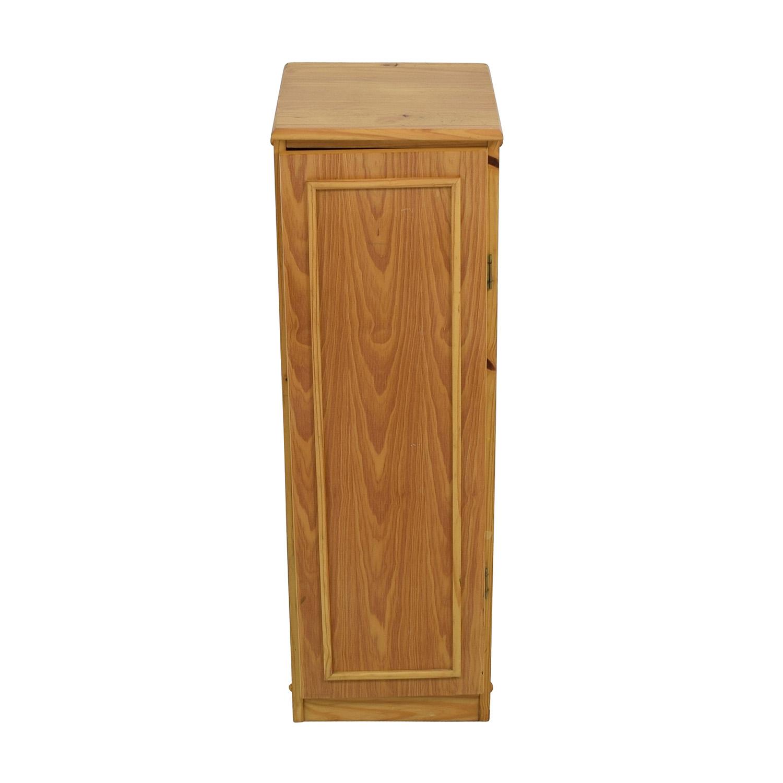 buy Wooden Bookcase with Door Storage