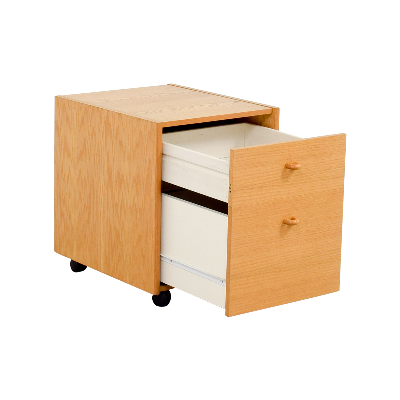 Oak Filing Cabinet dimensions