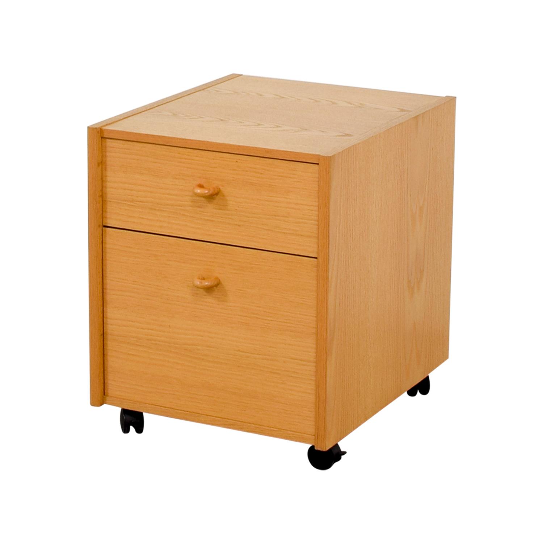Oak Filing Cabinet for sale