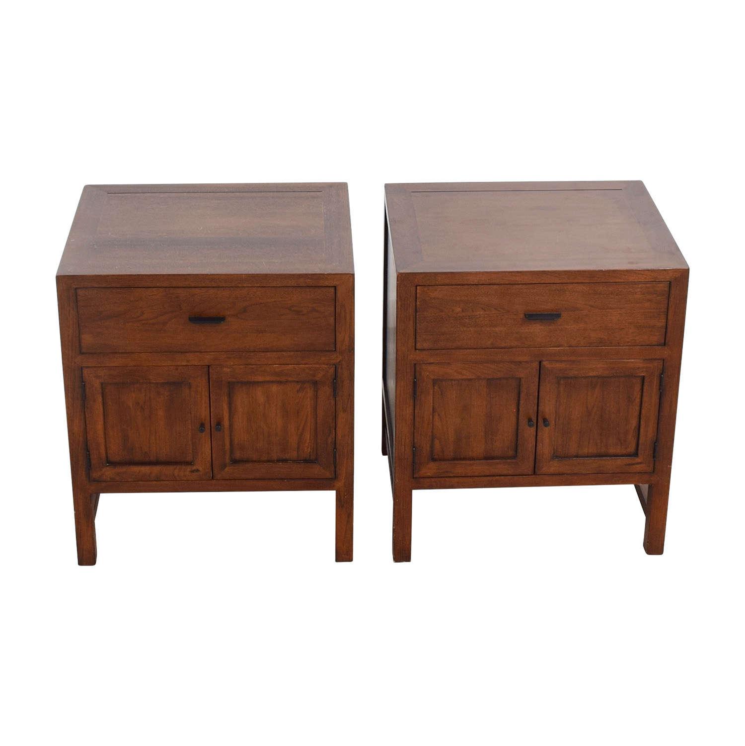 buy Room & Board One-Drawer with Storage Nightstands Room & Board End Tables