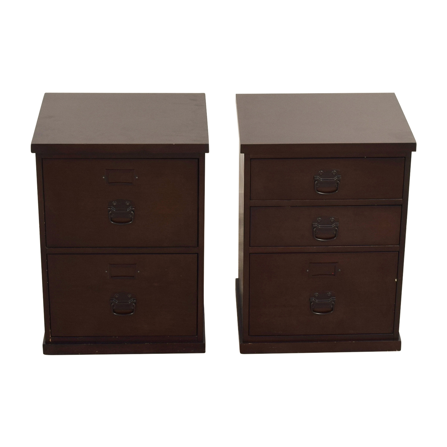 buy Pottery Barn Wood File Cabinets Pottery Barn Storage