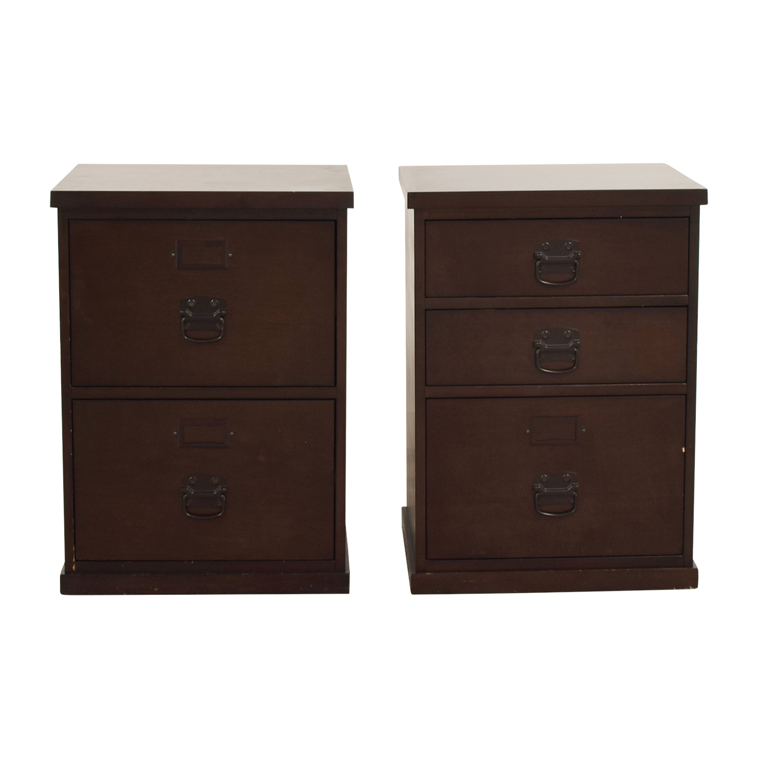 shop Pottery Barn Wood File Cabinets Pottery Barn