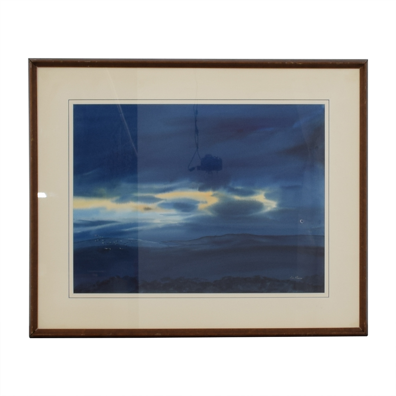 Don Harris Framed Don Harris Water Color Sunrise coupon