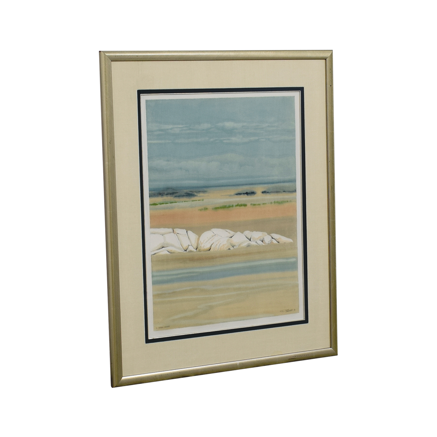 Framed Doug Forsythe Intaglio Monotypes sale