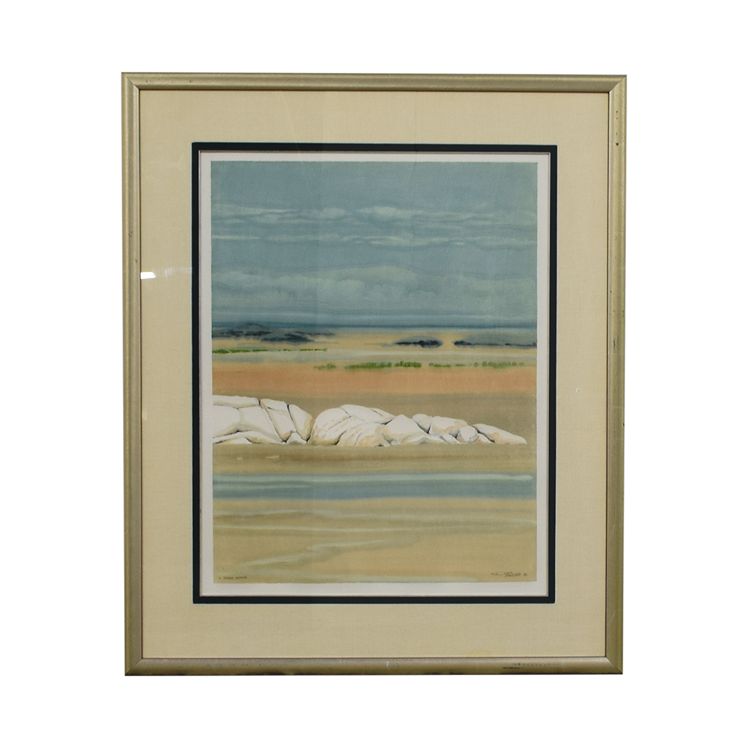 shop Framed Doug Forsythe Intaglio Monotypes Doug Forsythe Wall Art