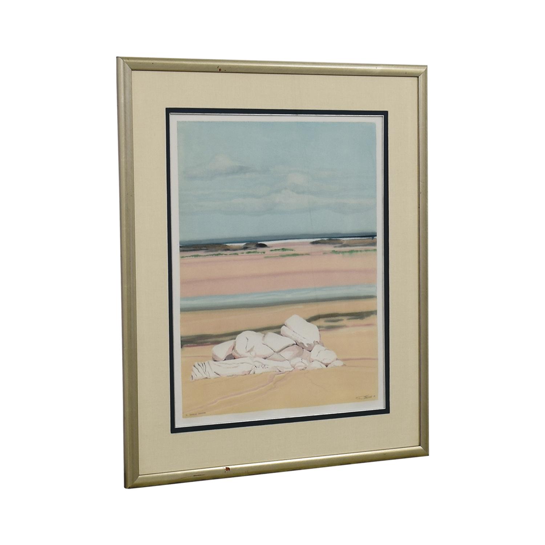 buy Doug Forsythe Doug Forsythe Intaglio Framed Print online