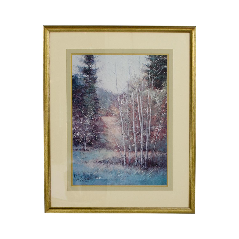 Vernon Kerr Birch Trees Print sale