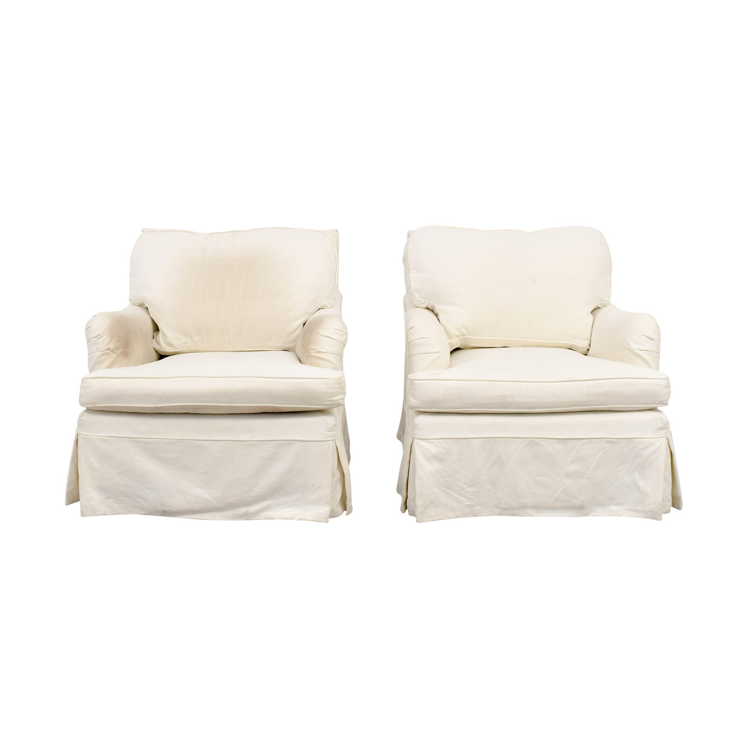 shop William Farrell William Farrell Upholstered Swivel Arm Chairs online