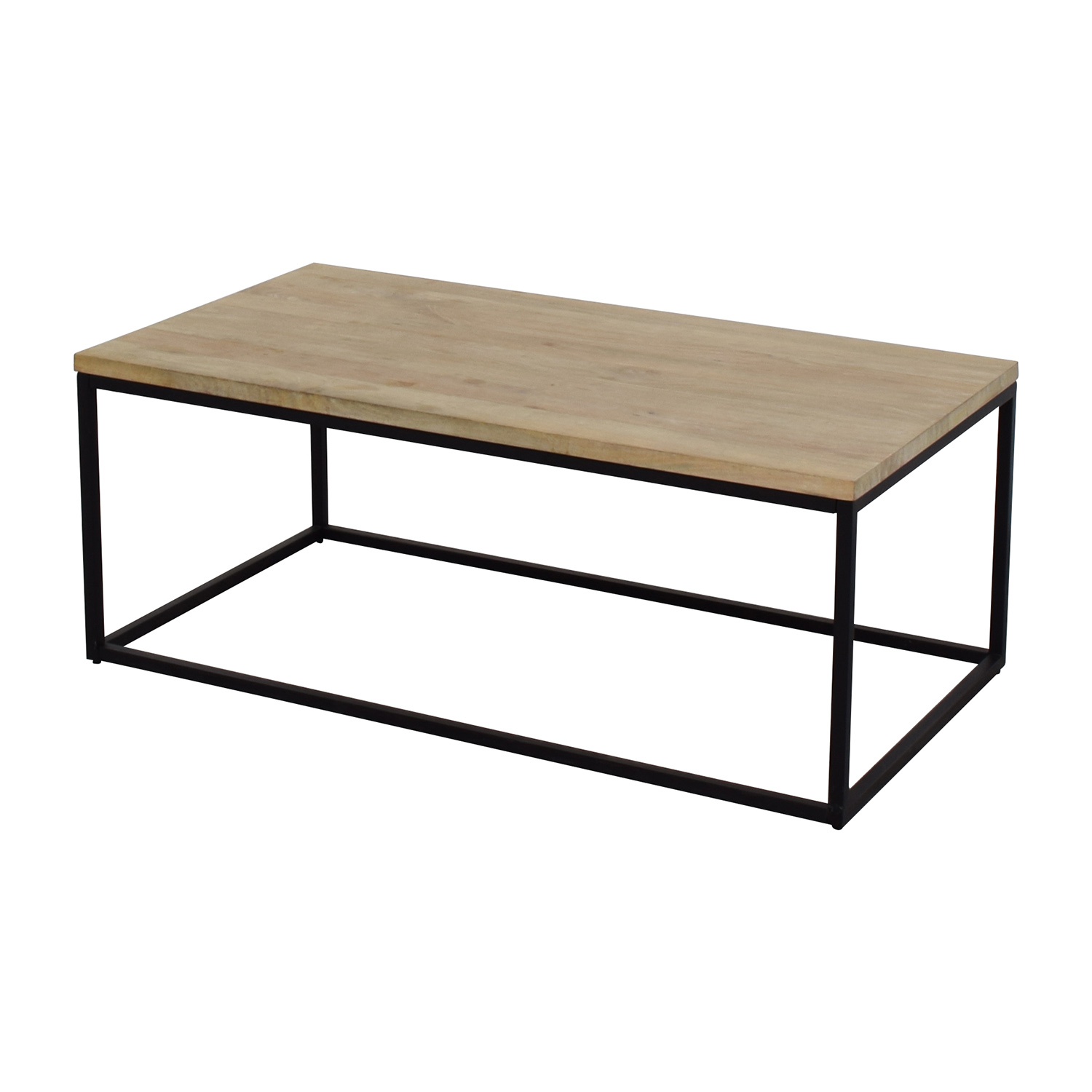 ... West Elm West Elm Box Frame Coffee Table Second Hand ...