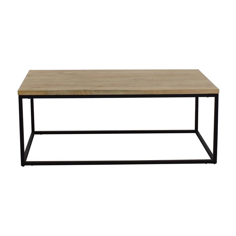 buy West Elm West Elm Box Frame Coffee Table online