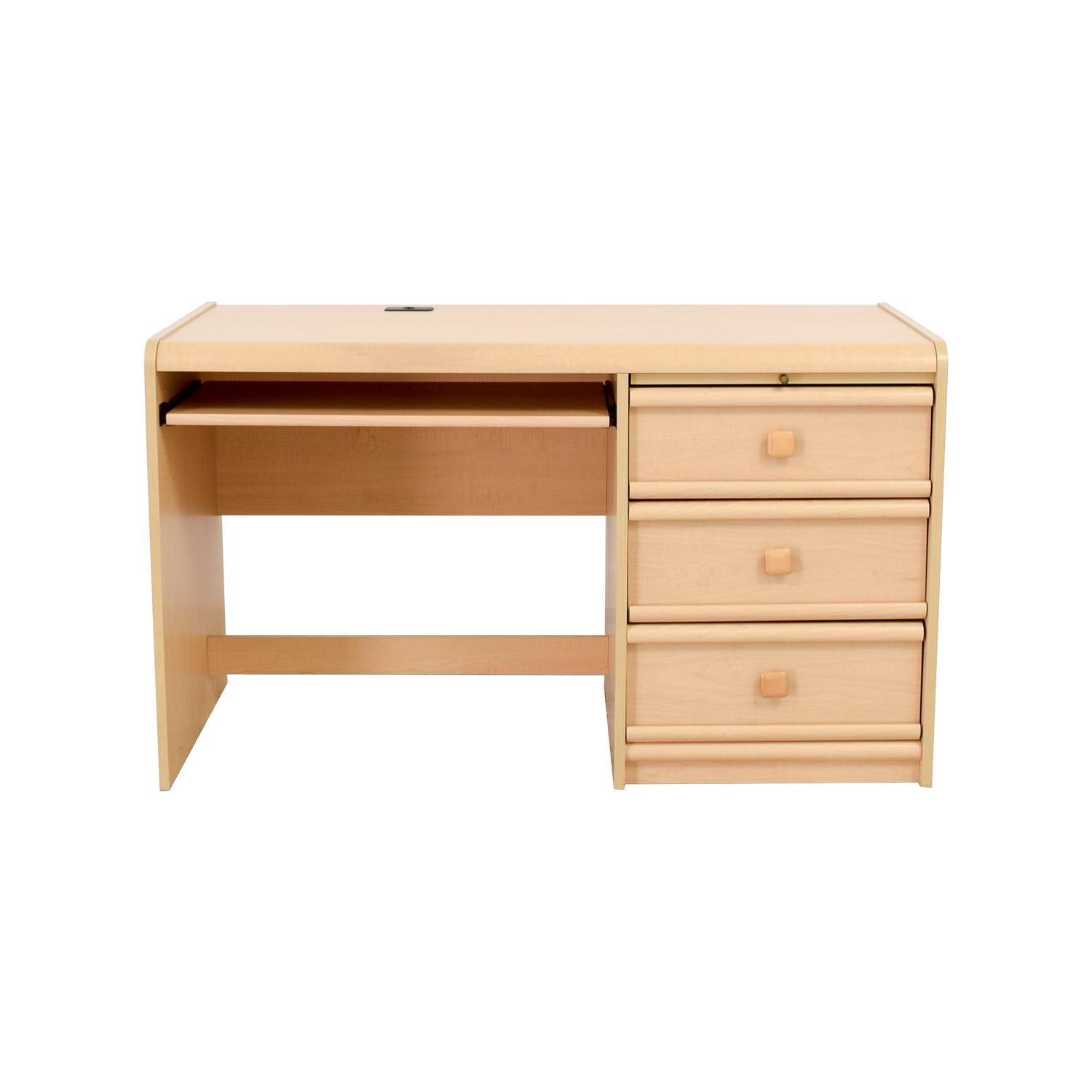 Palliser Palliser Three-Drawer Desk with Keyboard Shelf Tables