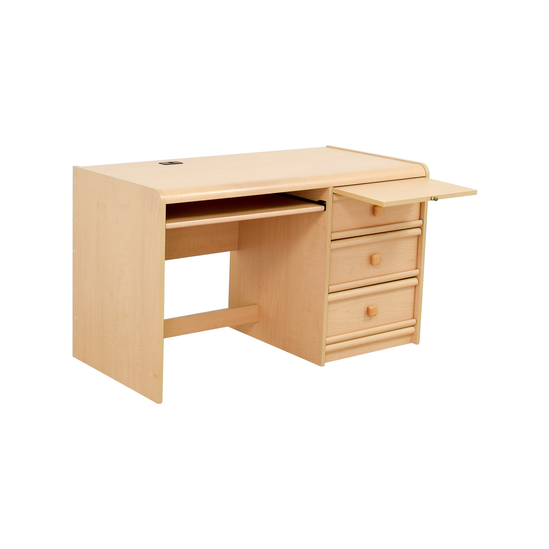 90 Off Palliser Palliser Three Drawer Desk With