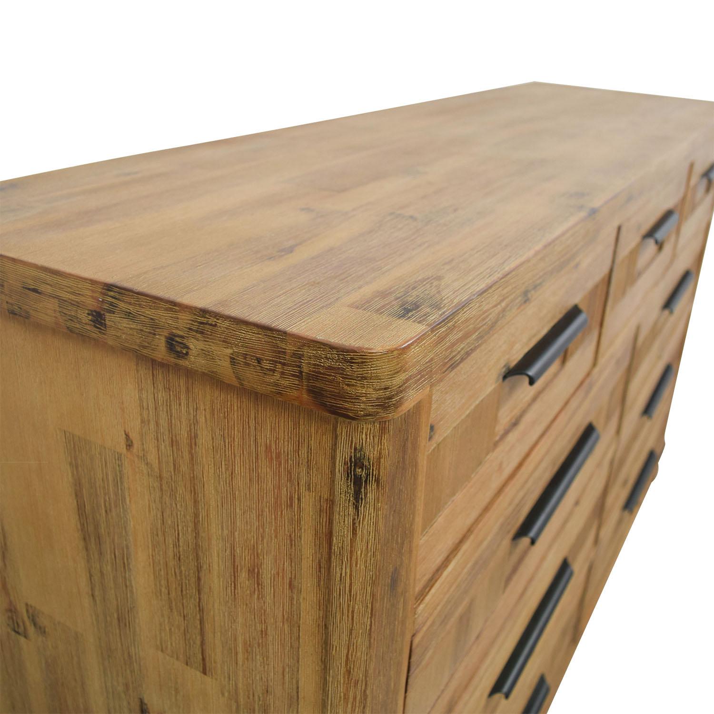 shop Canyon Rustic Modern Nine-Drawer Dresser Canyon