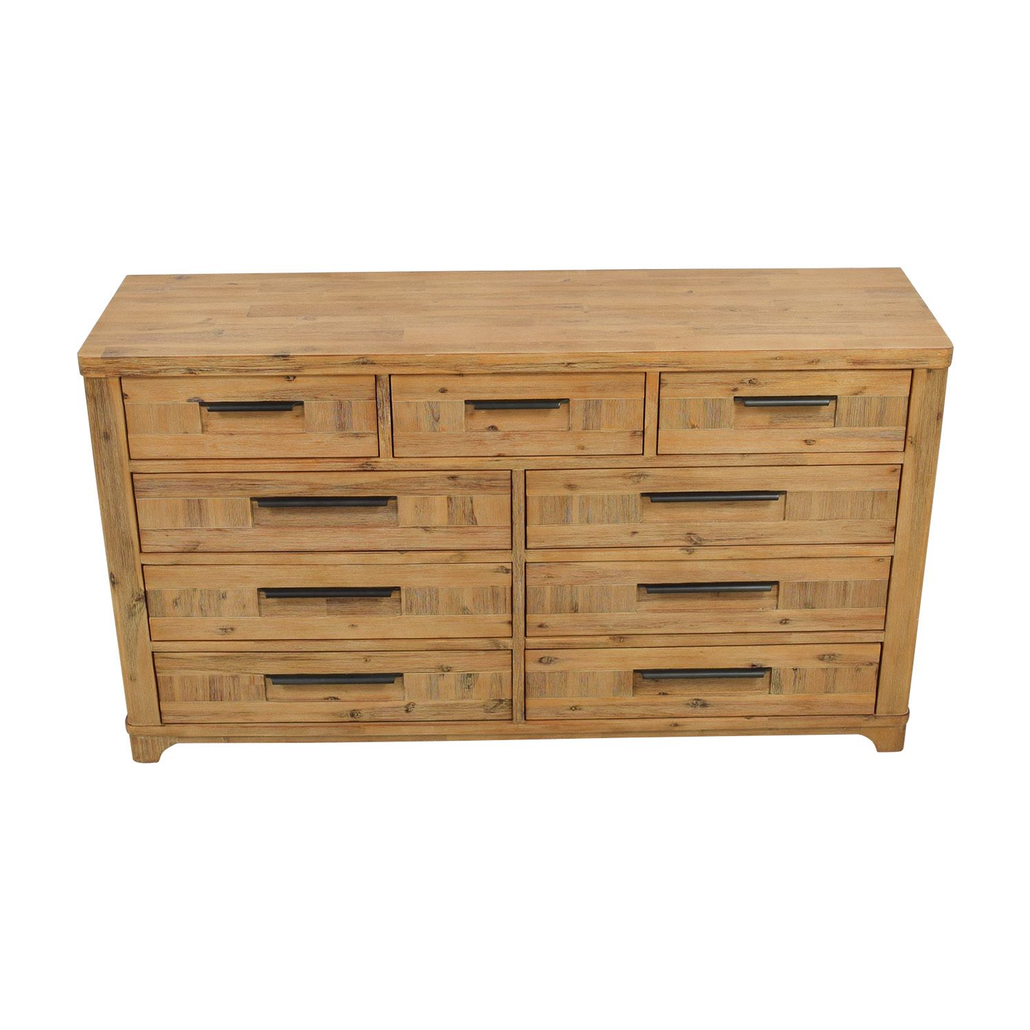 buy Canyon Rustic Modern Nine-Drawer Dresser Canyon