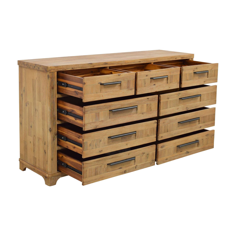 shop Canyon Canyon Rustic Modern Nine-Drawer Dresser online