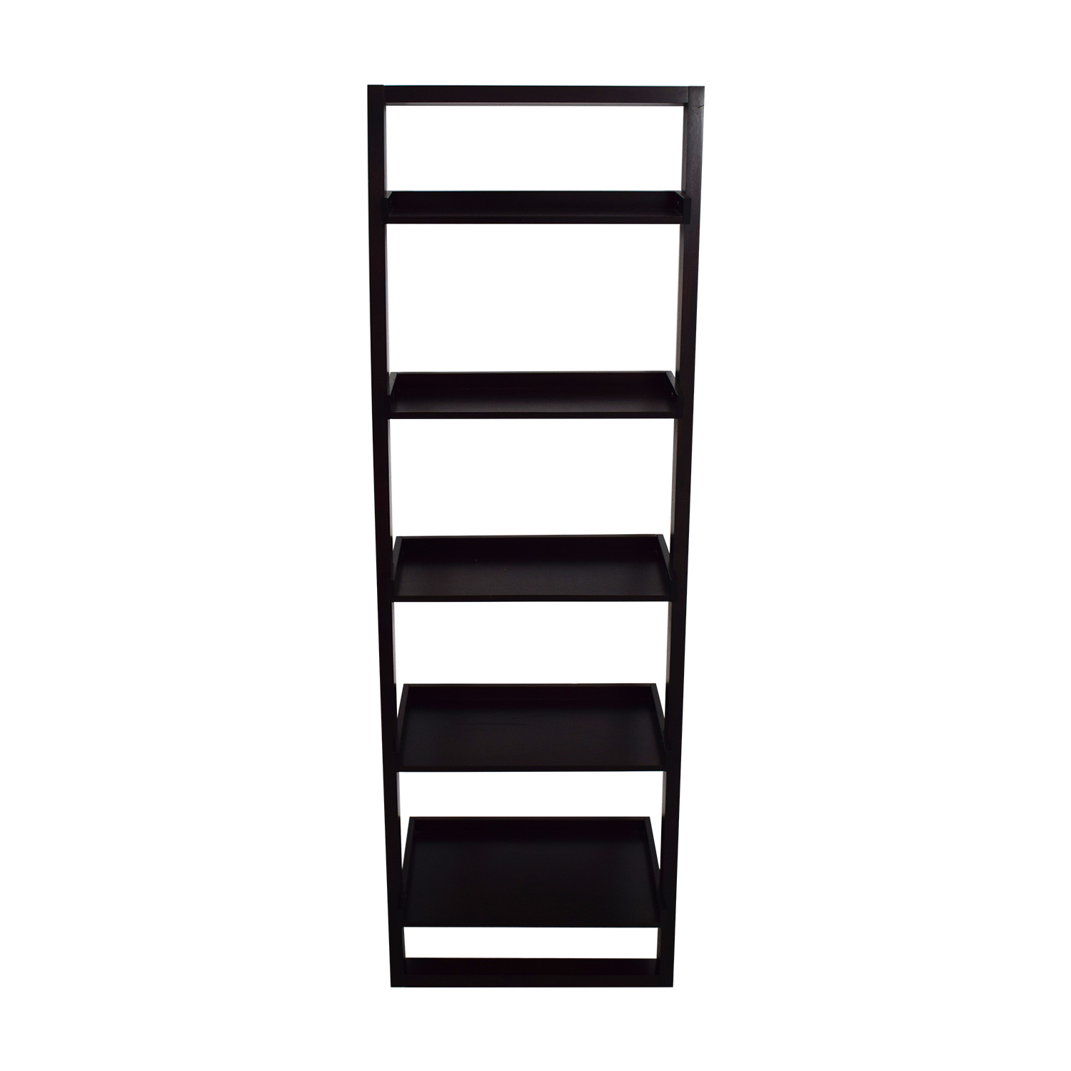 Crate & Barrel Crate & Barrel Leaning Ladder Bookshelf Storage