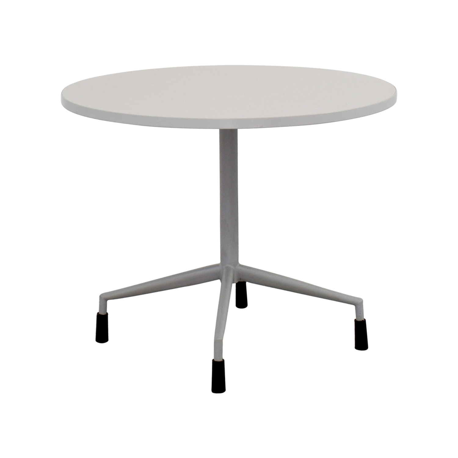 71 off white round table with leg base tables. Black Bedroom Furniture Sets. Home Design Ideas