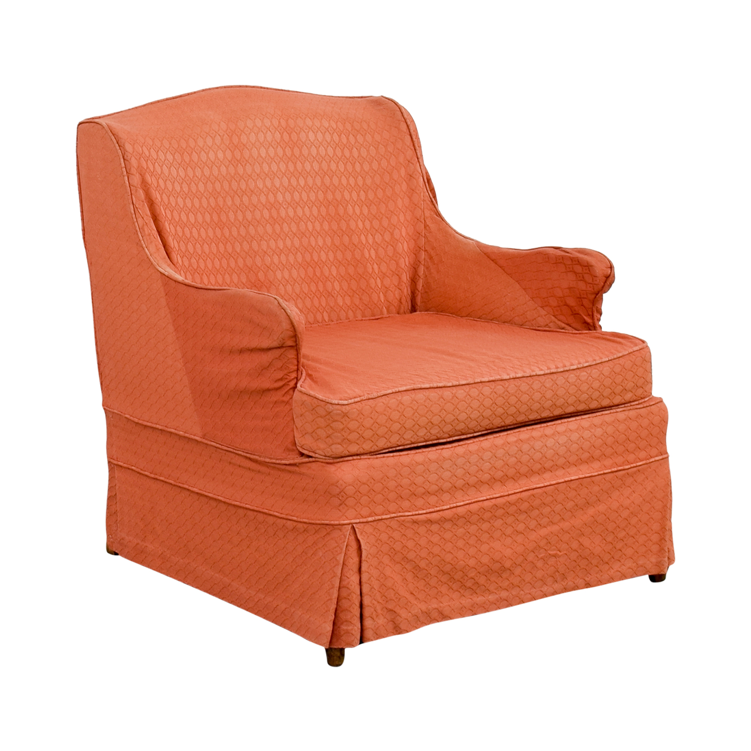 90 Off Vinatage French Provincial Coral Accent Chair