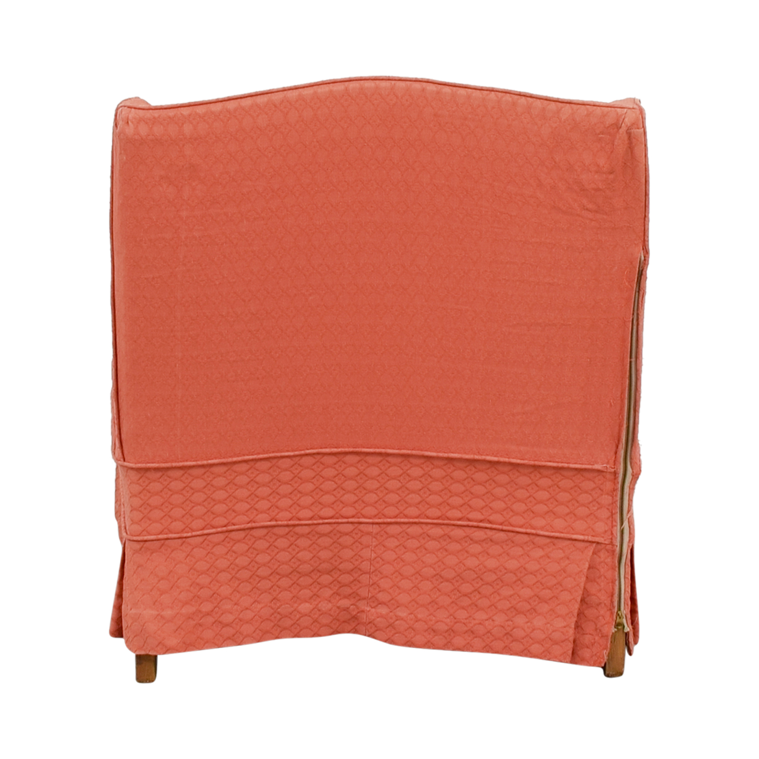 shop Vinatage French Provincial Coral Accent Chair
