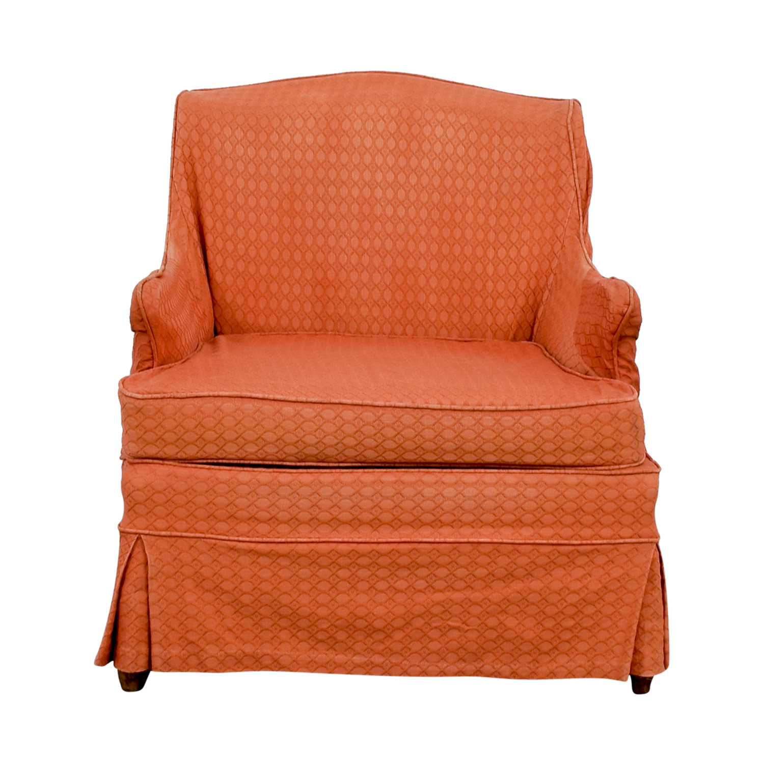 Vinatage French Provincial Coral Accent Chair On Sale ...