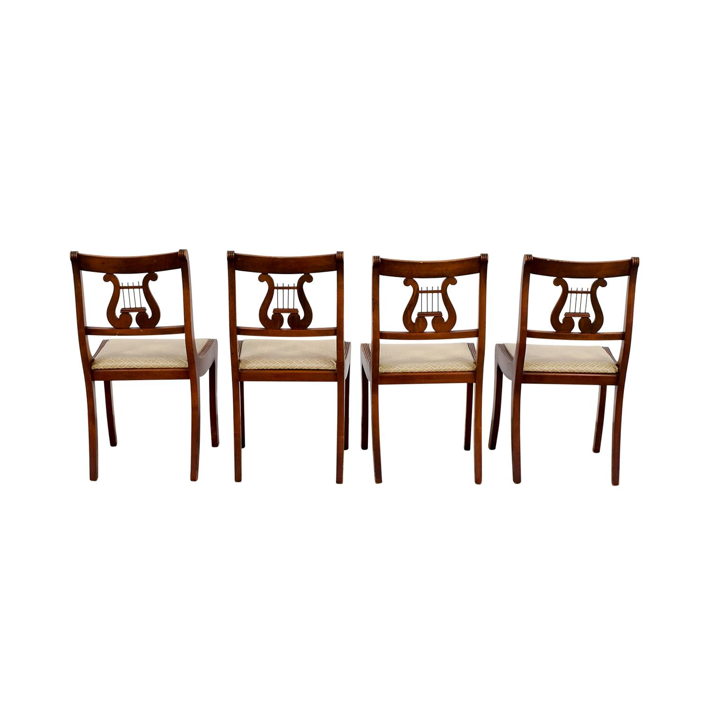 Vintage Mid-Century Harp Chairs nj