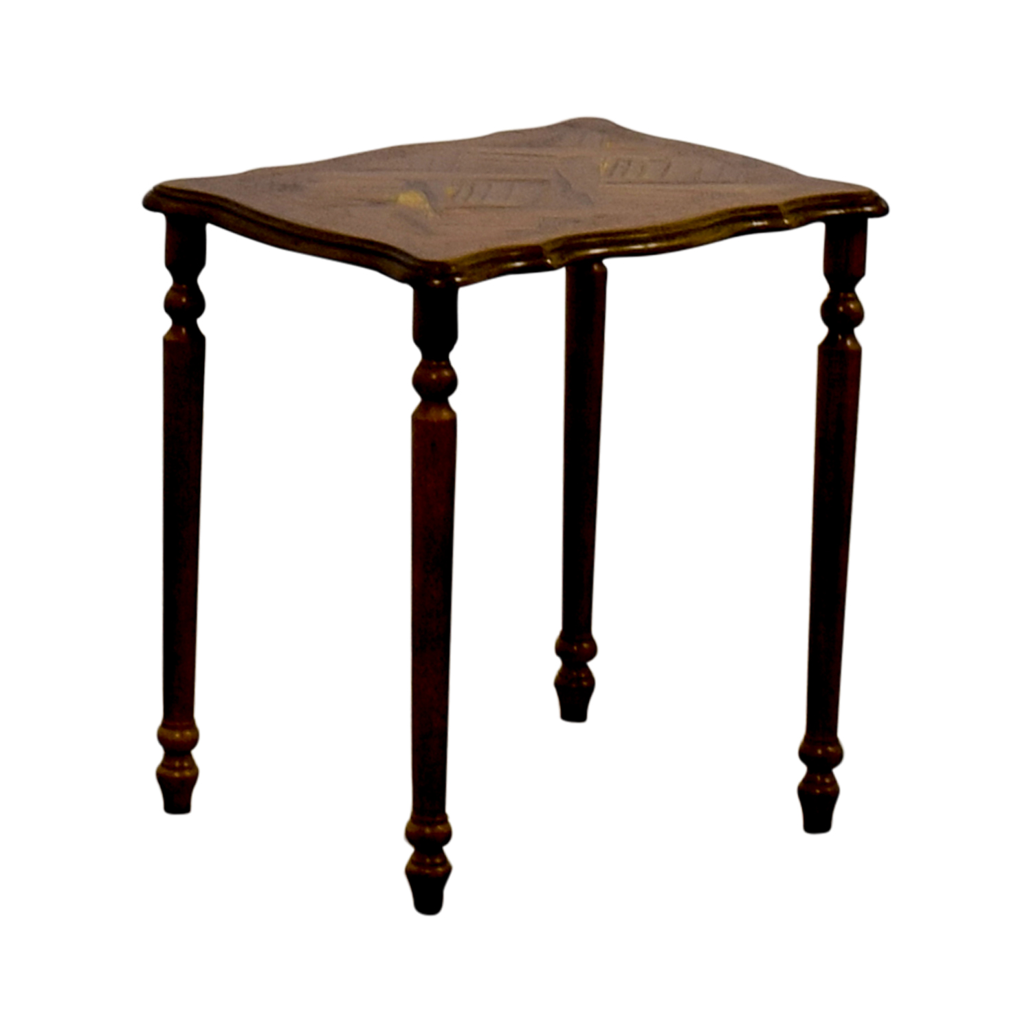 Off wooden plant stand tables
