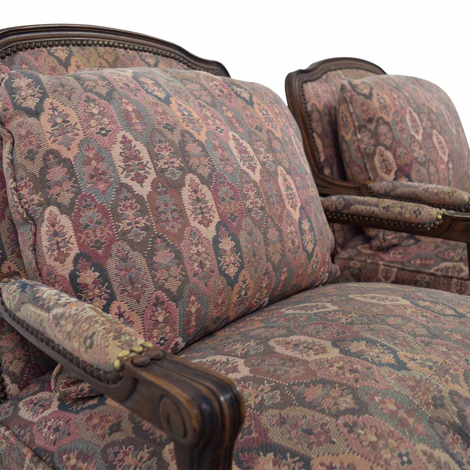 TRS Furniture TRS Furniture Low Wing Back Arm Chairs discount