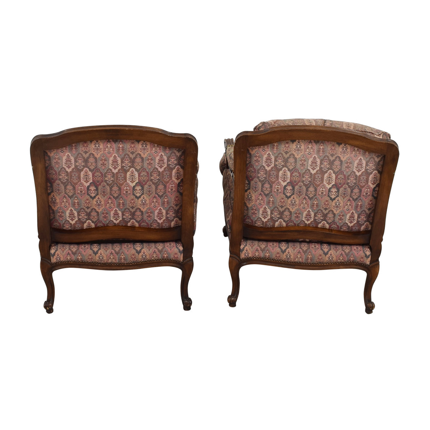 shop TRS Furniture TRS Furniture Low Wing Back Arm Chairs online