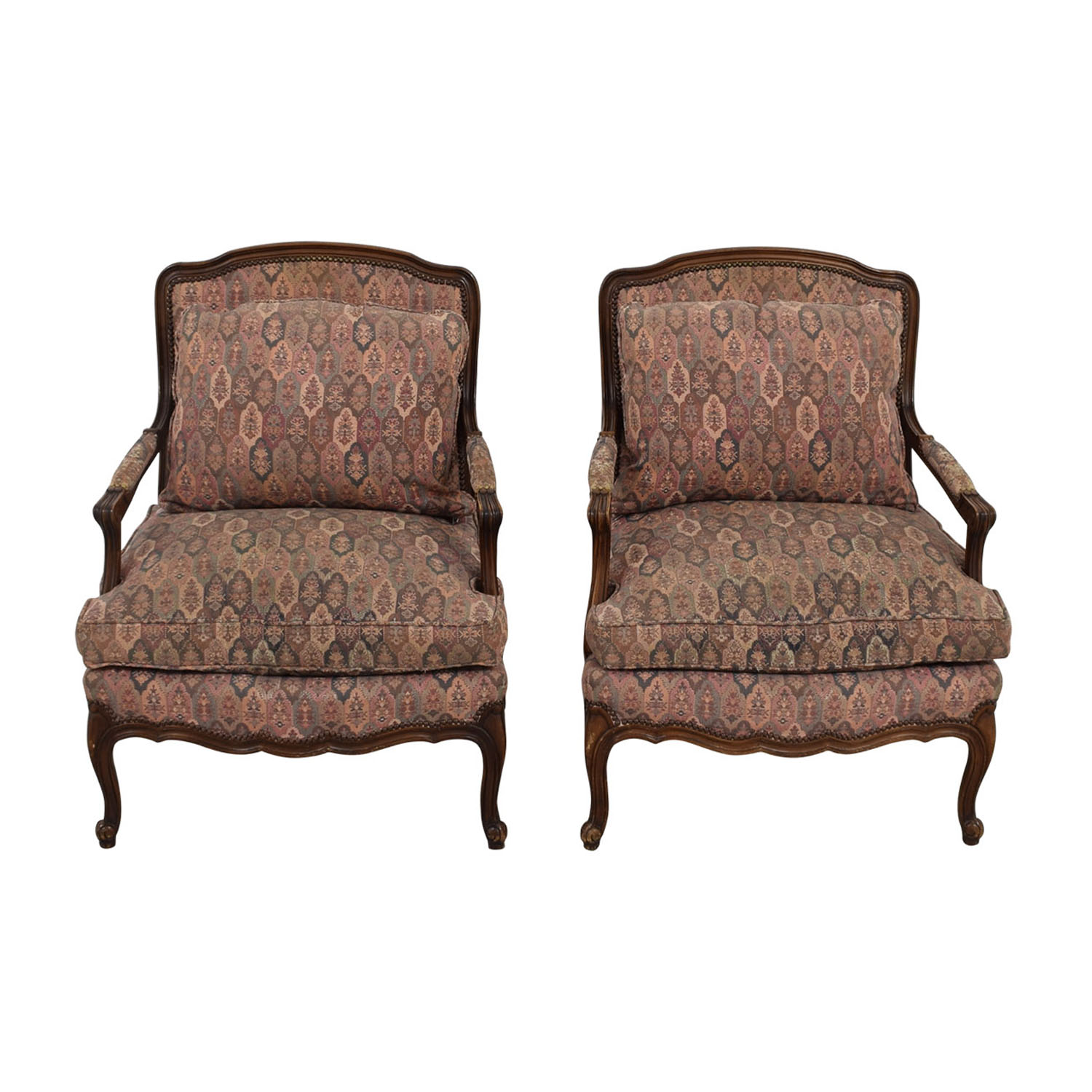 TRS Furniture Low Wing Back Arm Chairs sale