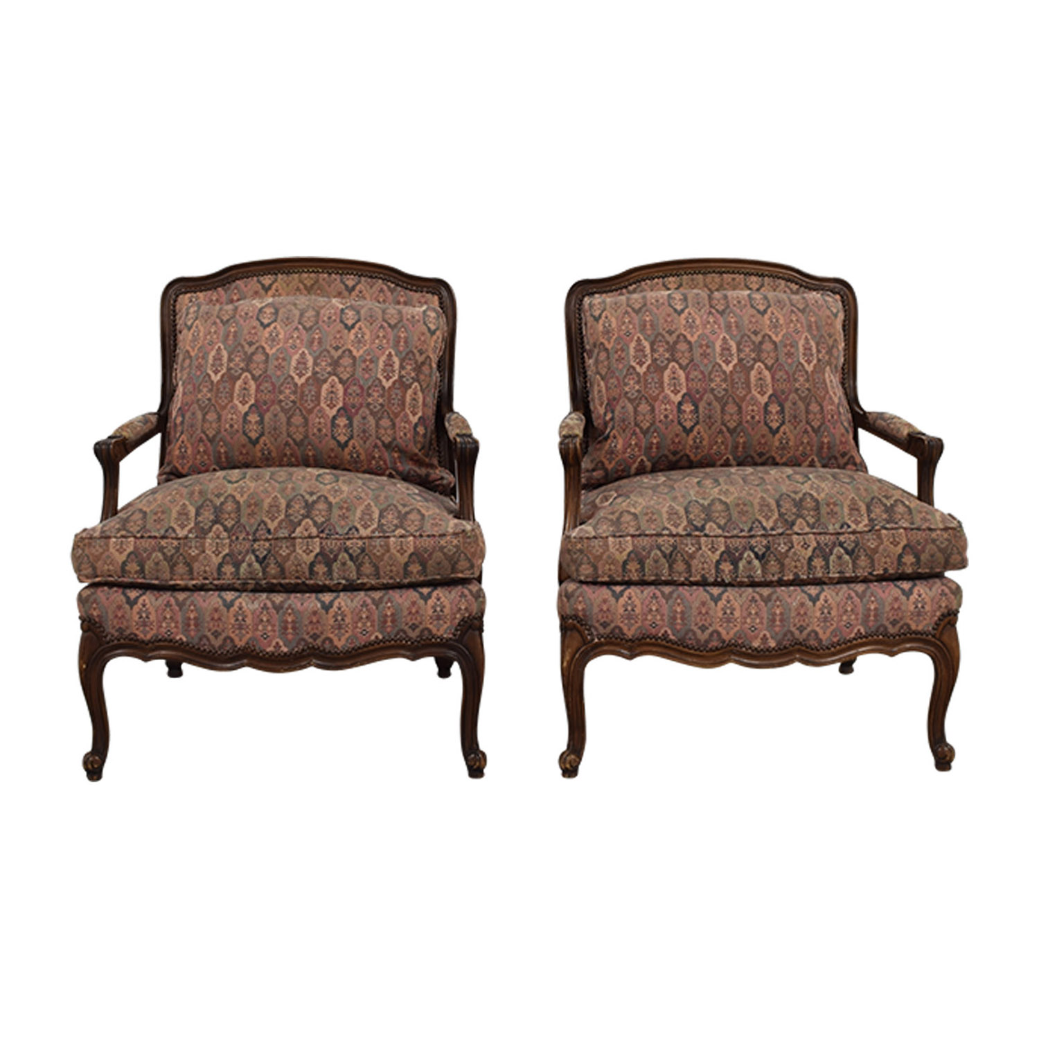 TRS Furniture TRS Furniture Low Wing Back Arm Chairs nyc ...  sc 1 st  Furnishare & 85% OFF - TRS Furniture TRS Furniture Low Wing Back Arm Chairs / Chairs