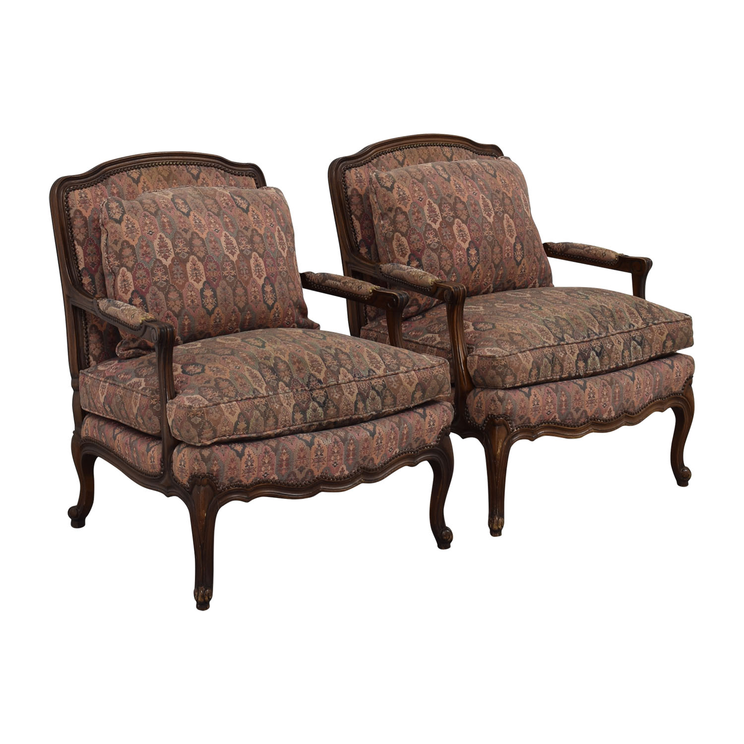 buy TRS Furniture Low Wing Back Arm Chairs TRS Furniture