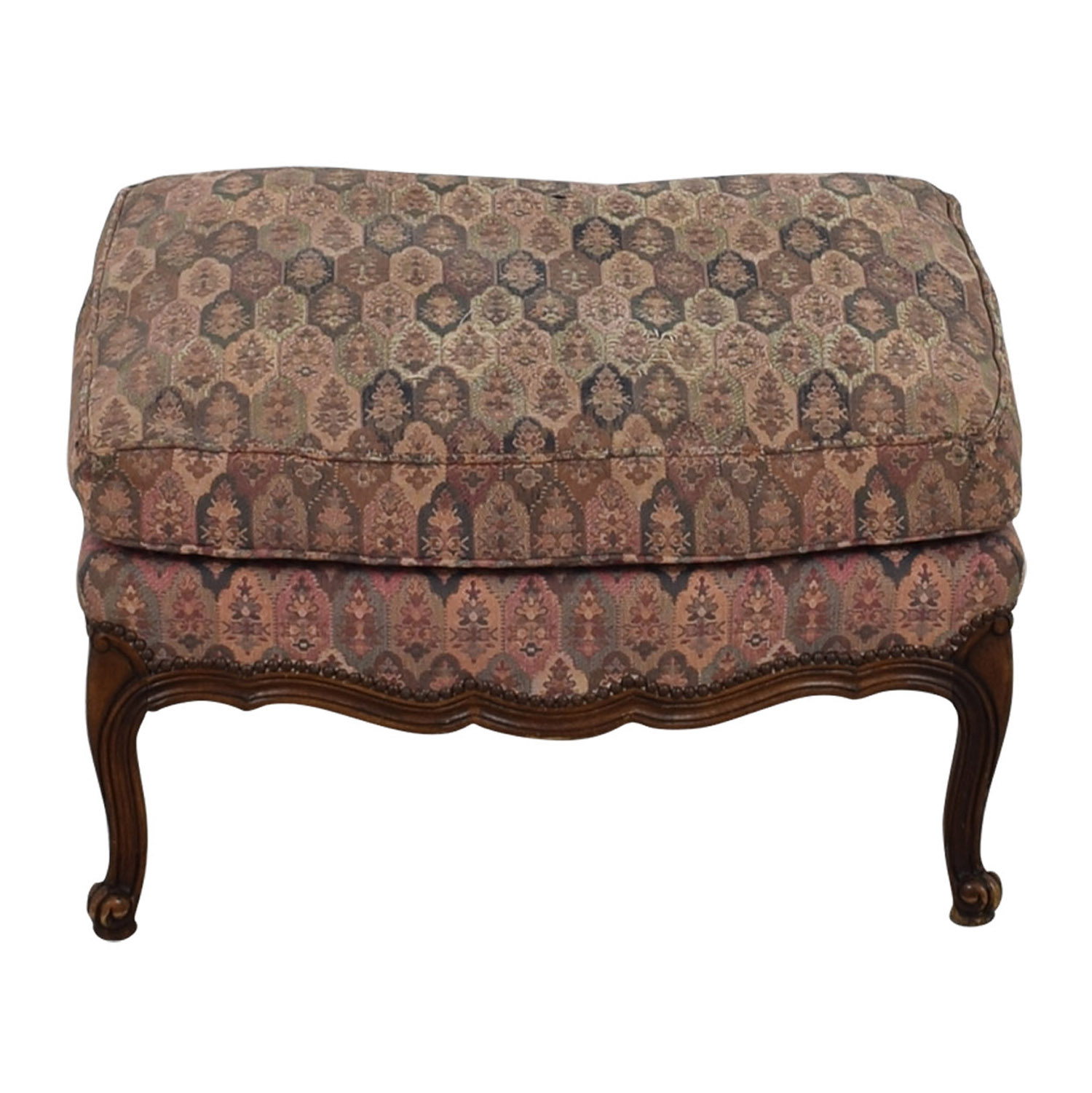 TRS Furniture Floral Ottoman / Chairs