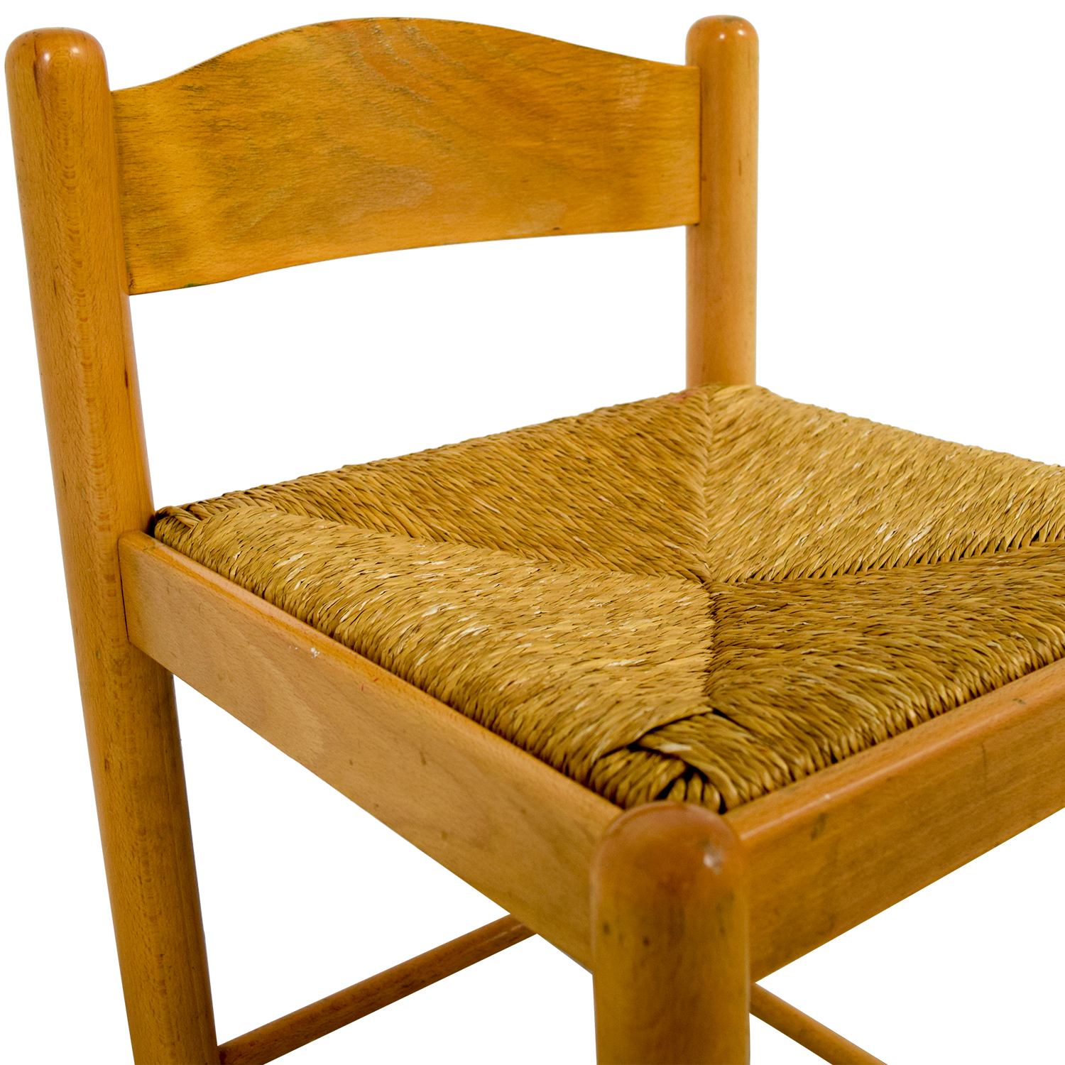 Wicker Wooden Stool coupon