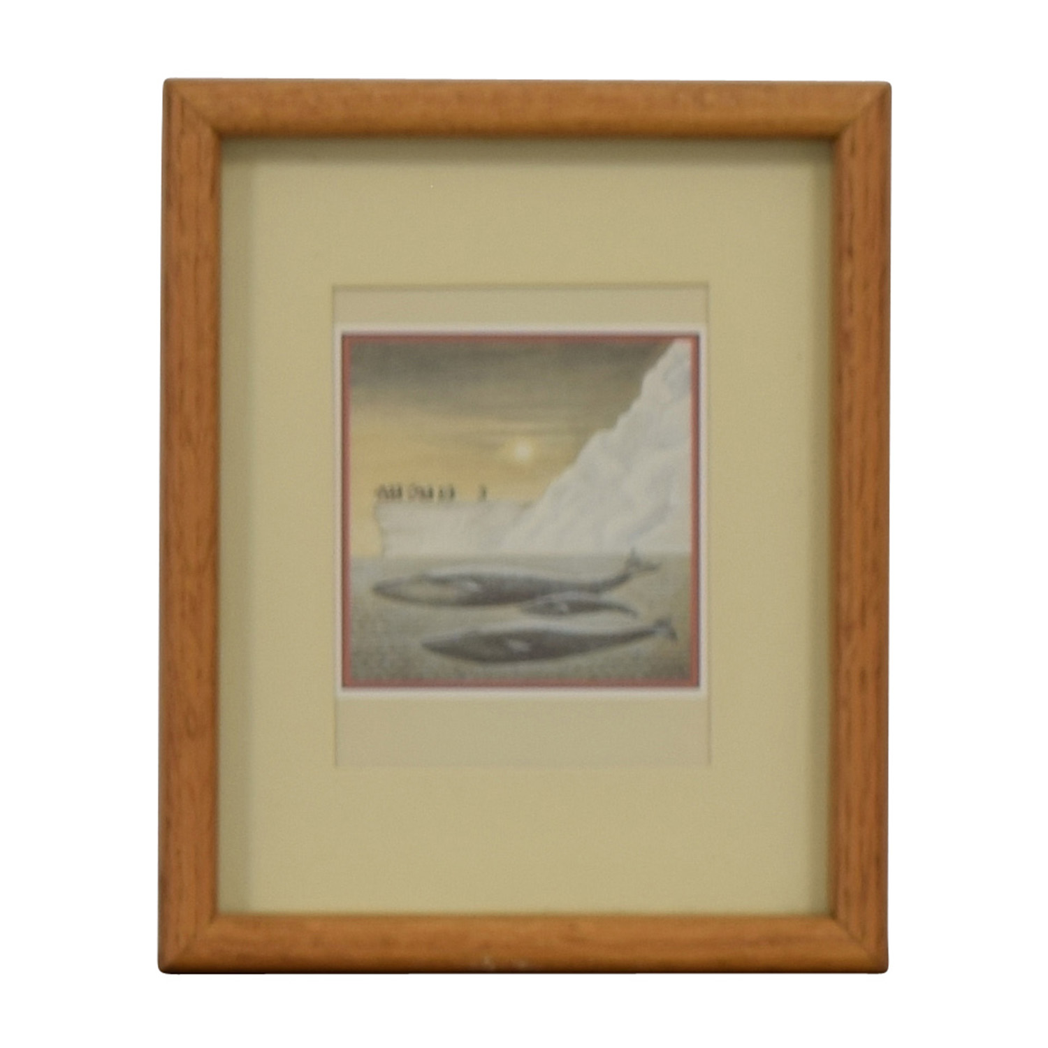 shop Portal Productions, Ltd. Portal Productions Blue Whales Lithograph online